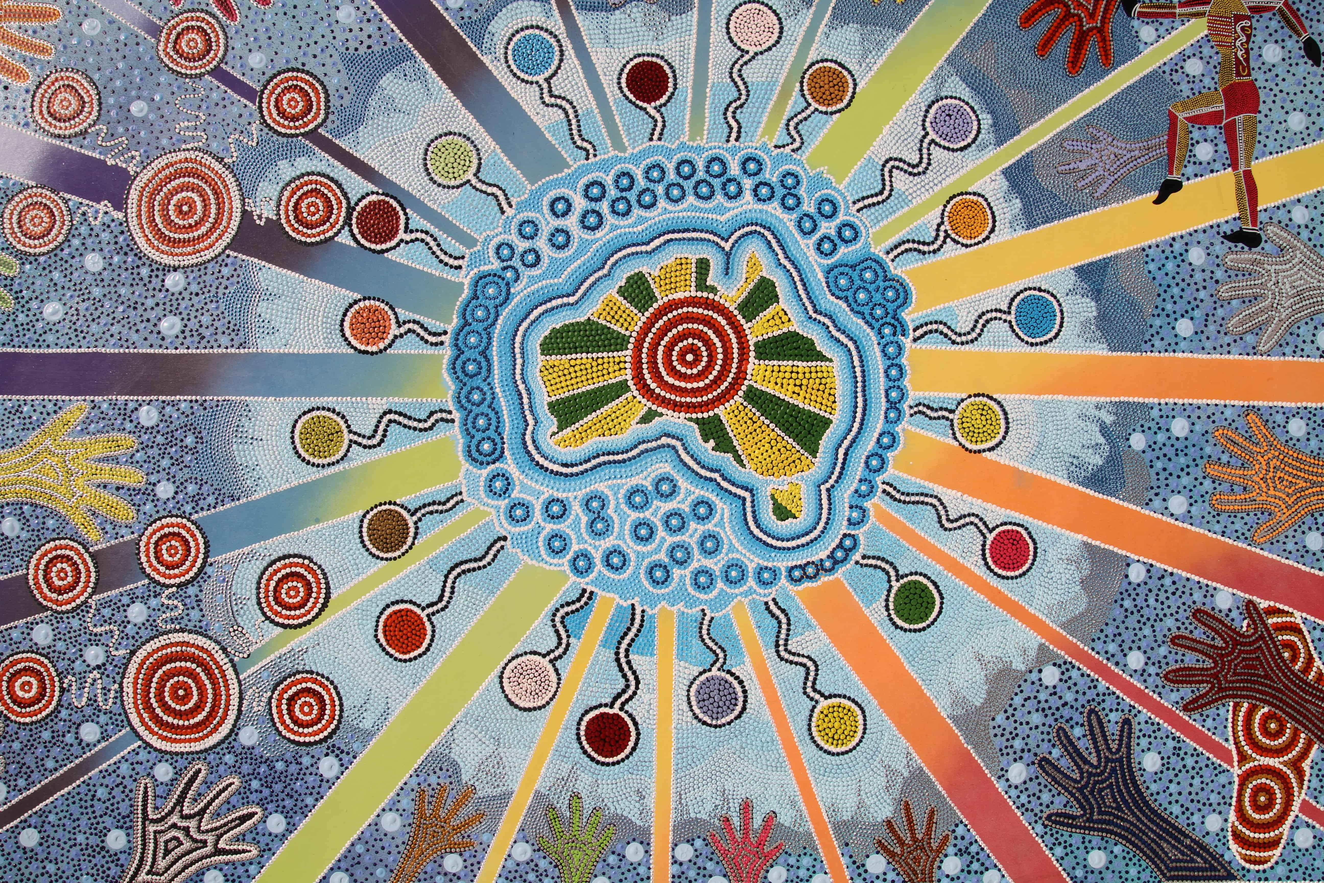 Aboriginal Art - David Dunn